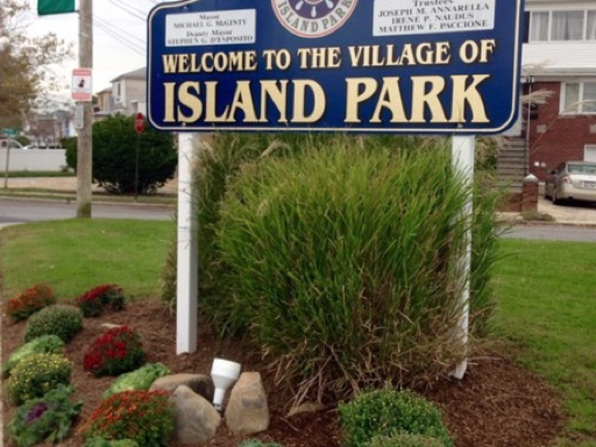 A photograph taken in Island Park, NY, for Island Park web design services