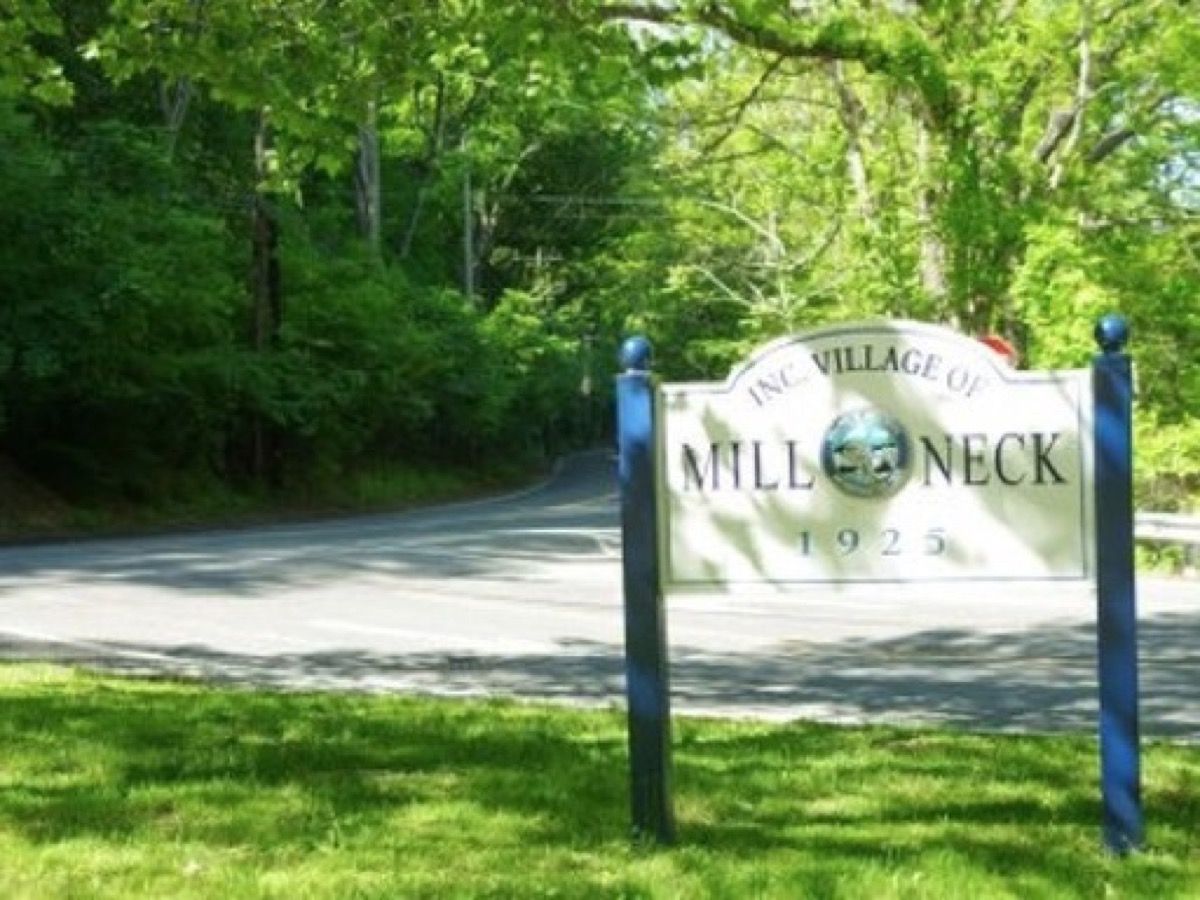 A photograph taken in Mill Neck, NY, for Mill Neck web design services